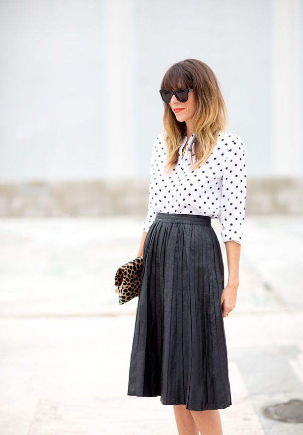 leather_pleated_skirt_polka_dot_blouse_sarah_yates_8_opt