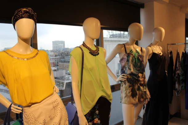 Behind The Scenes: House of Fraser High Summer Press Day