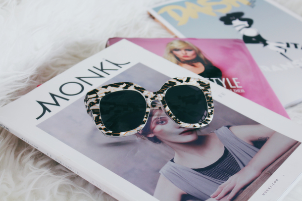 Designer Double: Monki's Unni Sunnies