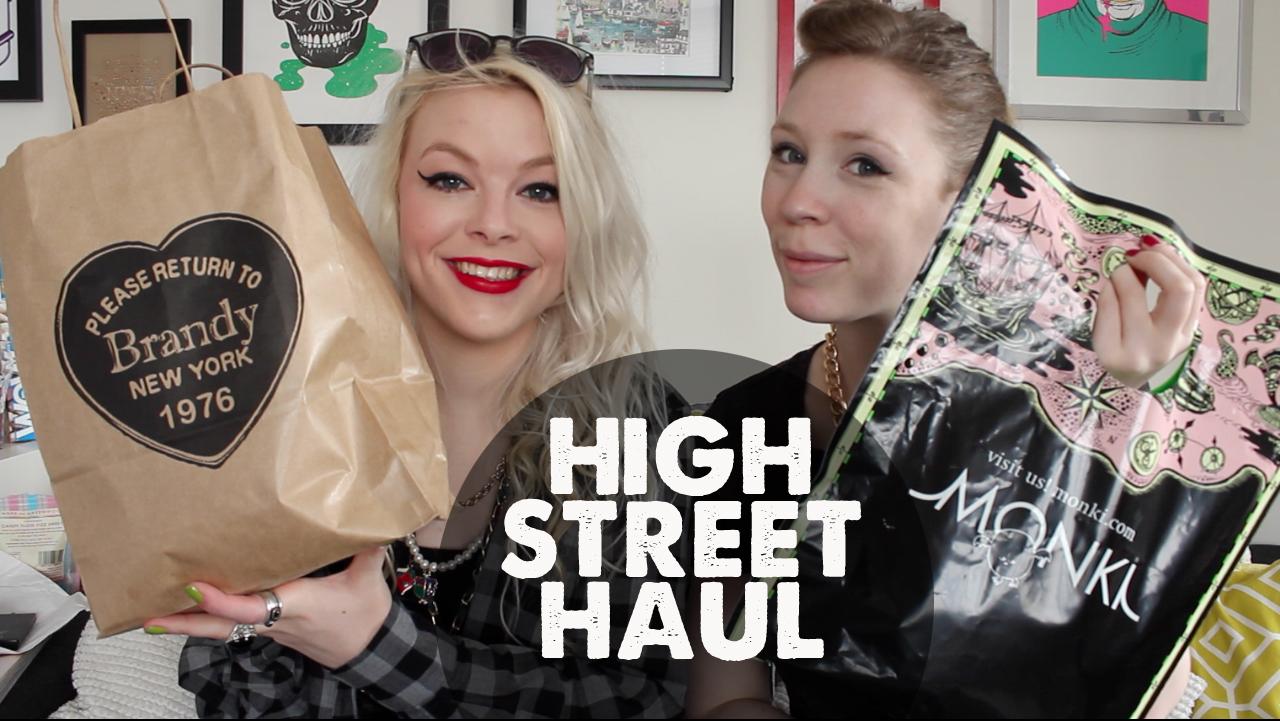 A High Street Haul (With MyBFF)