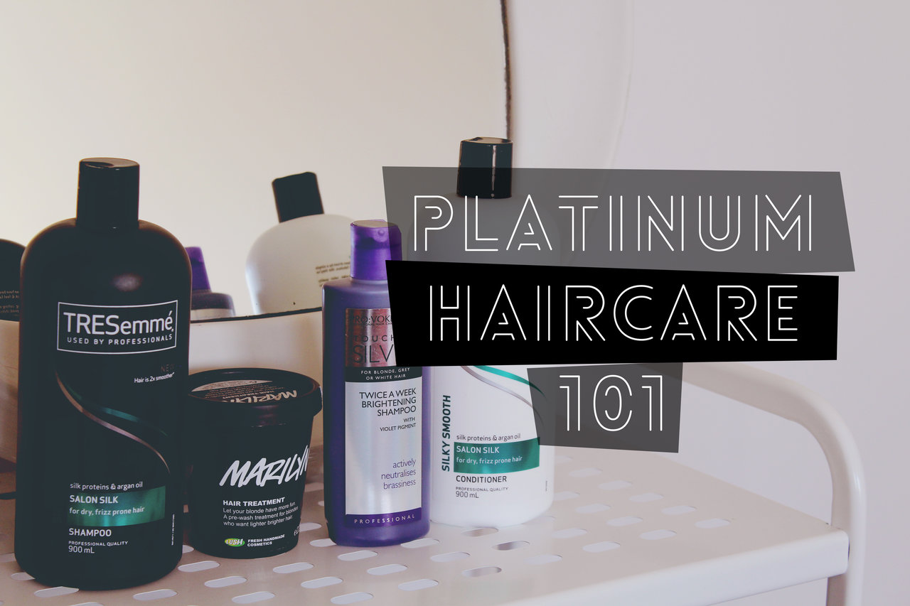 Platinum Haircare 101