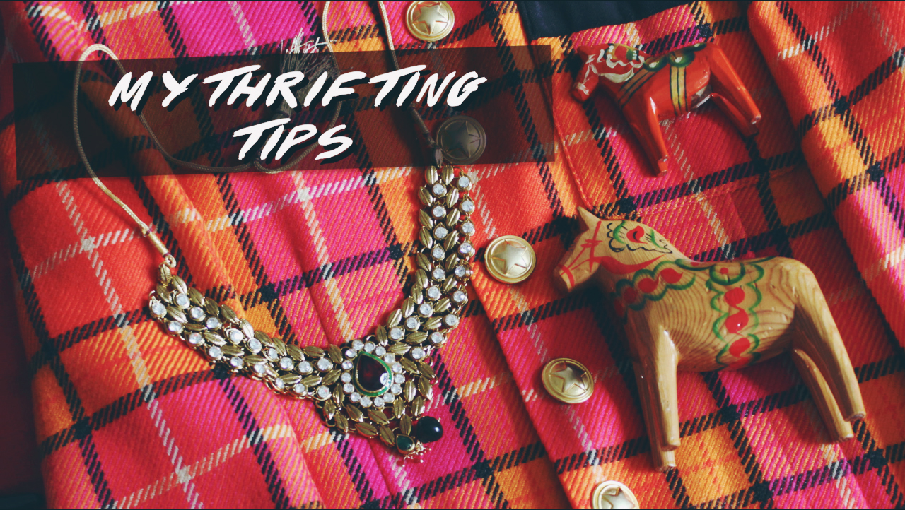 My Tips For Thrifting