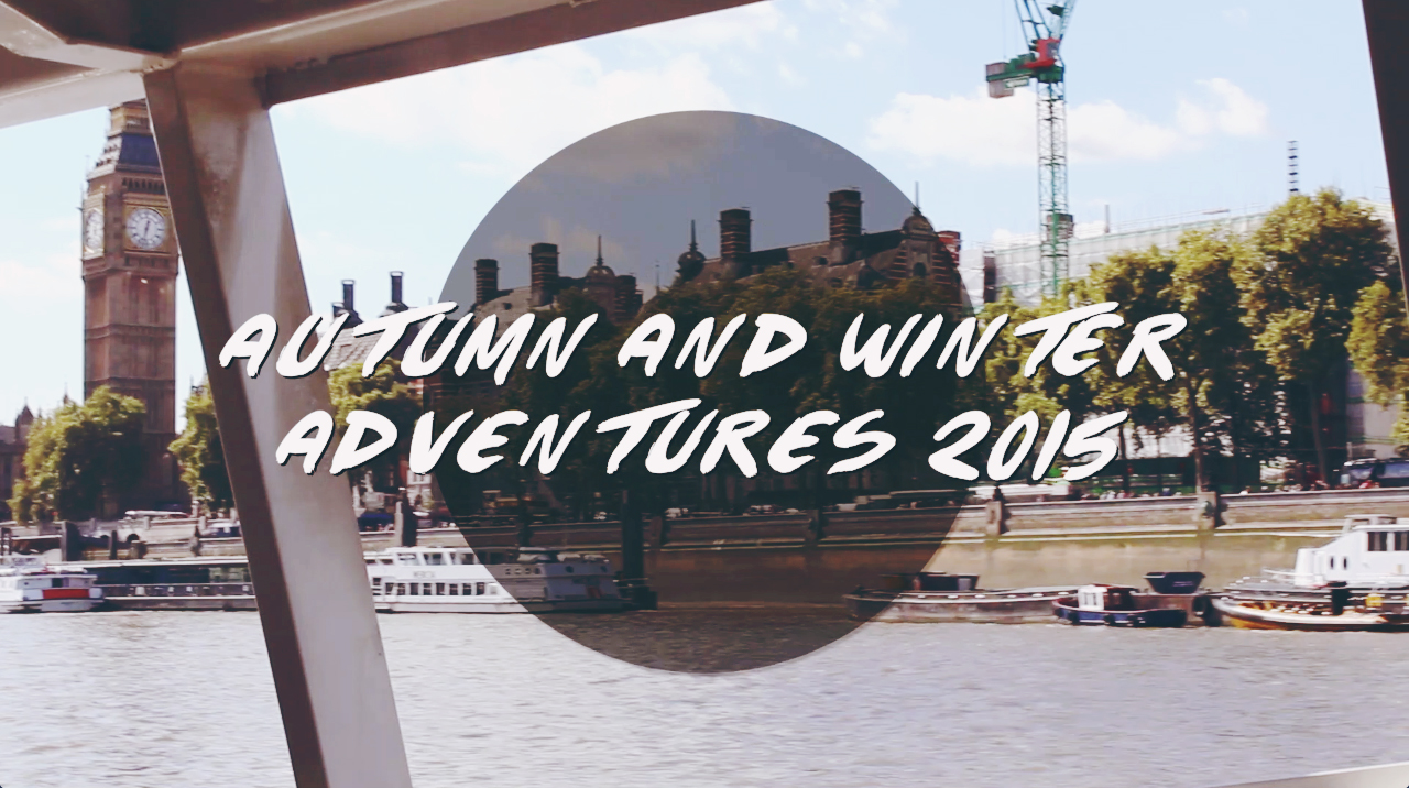 Autumn And Winter Adventures Vlog